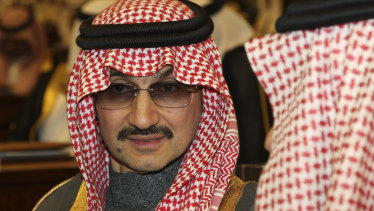 Prince Alwaleed bin Talal al-Saud's net worth has tumbled, but he remains Saudi Arabia's richest person.