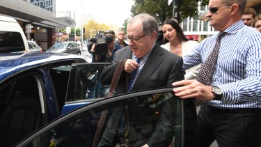 Curran did not answer questions as he left court and climbed into a waiting car.
