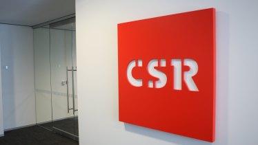 CSR is a $2 billion building products manufacturer.