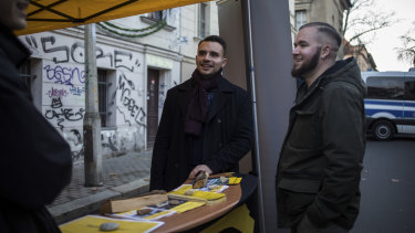Philip Thaler, a co-founder of the Halle chapter of Generation Identity.