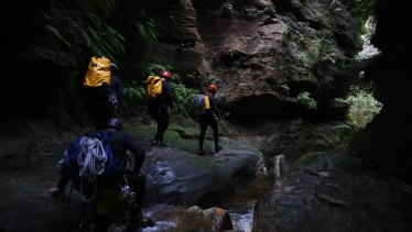 Adventure guides have struggled to find work because of the closure of large sections of the Blue Mountains World Heritage Area.