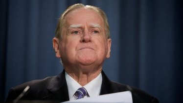 Christian Democrats' Fred Nile.