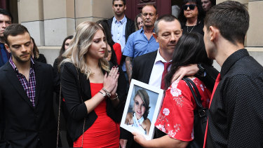 Katherine Haley's family hope some good will come out of her death.