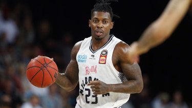 Melbourne United's Casey Prather.