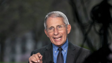 Anthony Fauci: getting his own bobblehead.