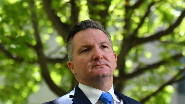 Labor's health spokesman Chris Bowen