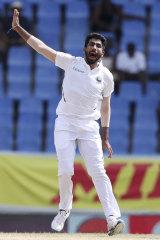 Formidable attack: India's Jasprit Bumrah.