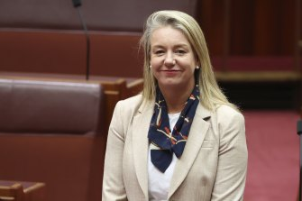 Victorian Senator Bridget McKenzie, 51, said she would be happy to proceed with her second AstraZeneca dose as recommended.