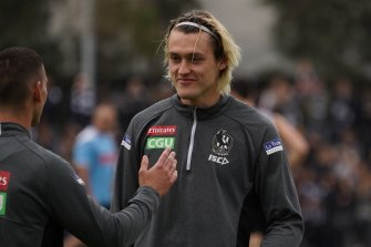 There has been speculation that Richmond will try to poach Collingwood defender Darcy Moore.