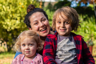 Dani Dafoulis, 40, said the government's new childcare plan won't benefit her because her youngest daughter is only in childcare for one more year.