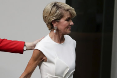 Perfectly poised, Bishop quits politics with a message for men eyeing her seat