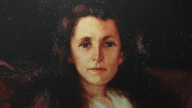 A painting depicting Eileen O'Connor, who helped found the Brown Nurses.