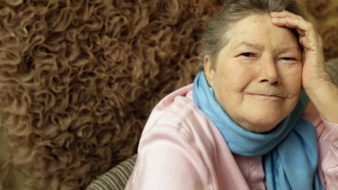 Author Colleen McCullough, in 2008.