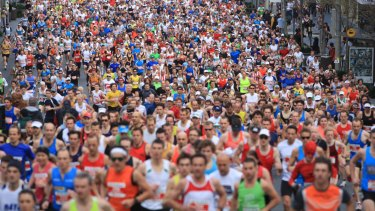 Eight thousand people are expected for this weekend's City2Surf.