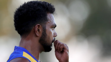Provisionally suspended: Willie Rioli.