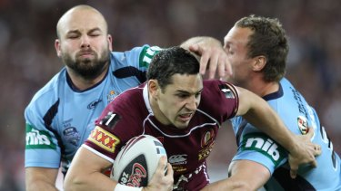 Billy Slater once again helped torture the Blues.