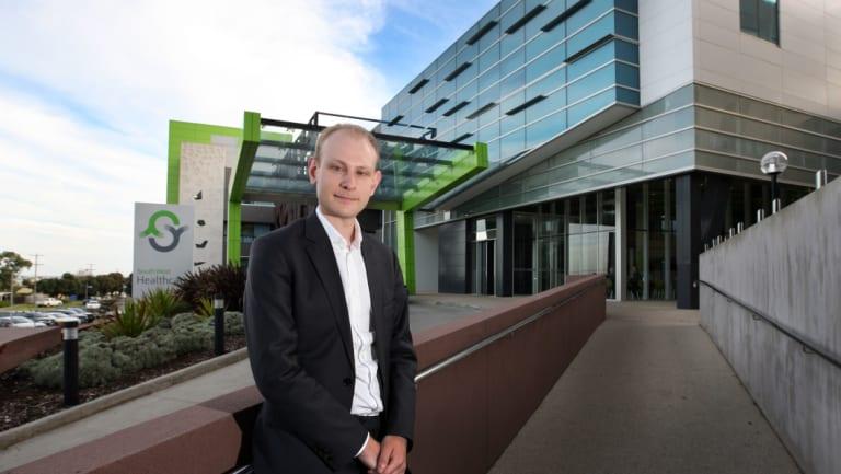 Victorian Healthcare Association chief executive Tom Symondson.