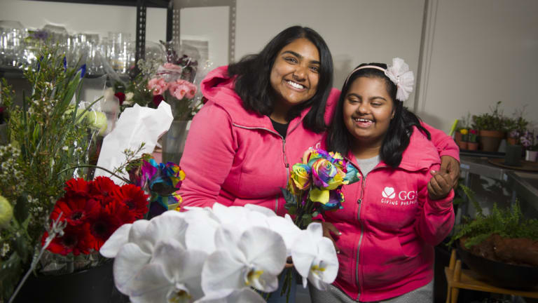 Nip Wijewickrema and her sister Gayana of GG's Flowers are looking for a new employee.