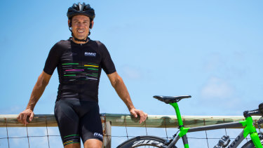 """If you're shown the ways to go, it's much, much better than you think"": Robbie McEwen on riding in Sydney."