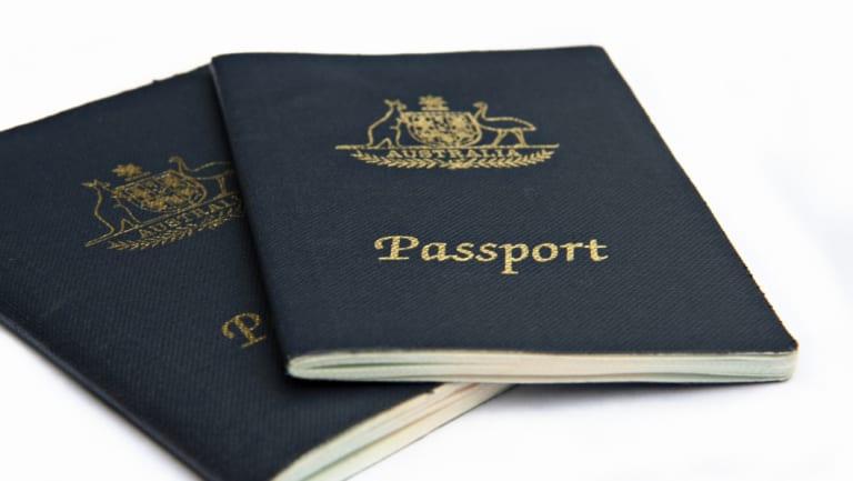 Australian passports.