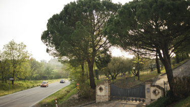 The place where the body of Pamela Mastropietro, a Roman teenager, was found near Macerata.