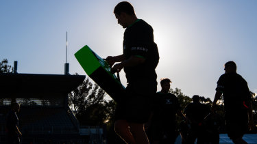Contact: A late transition to rugby from cricket sparked Maddocks' rapid rise
