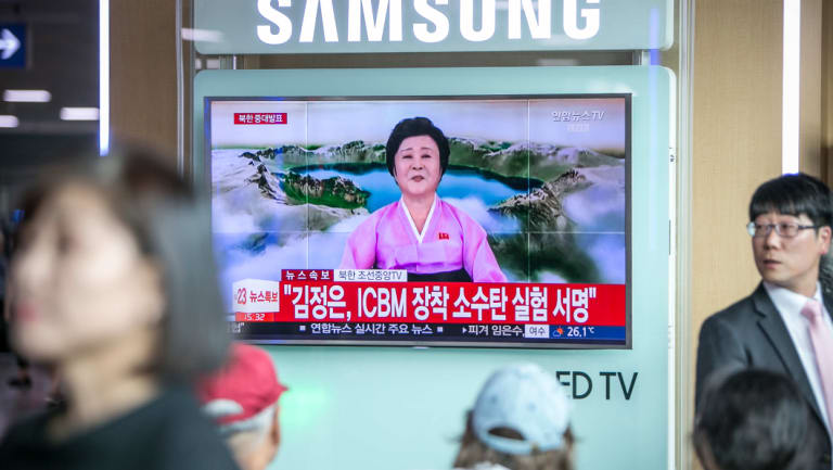 Veteran North Korean news anchor Ri Chun-hee was the first to tell compatriots of the proposed denuclearisation.