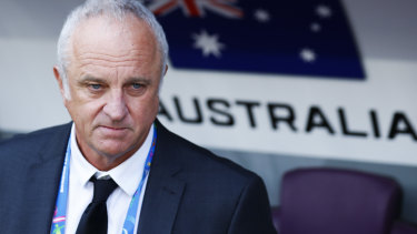 Confident: Arnold is expecting his players to show a marked improvement against Palestine.