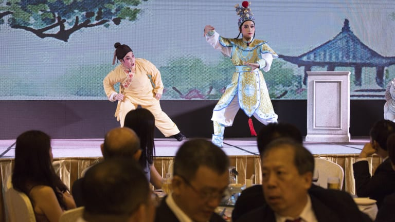 Recognising the economic potential after China's opening-up in the 1980s, Singapore has gone out of its way to play up its shared Chinese heritage.