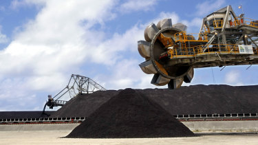 Adani's Abbot Point coal terminal near Bowen on the Queensland coast would become a gateway for Galilee coal exports.