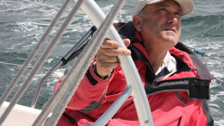 Skipper Ed Psaltis says the nightmare of the 1998 race is never far from his mind.