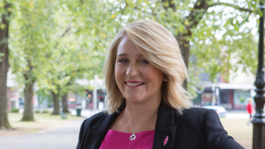 Kirsten Pilatti, the CEO of Breast Cancer Network Australia.