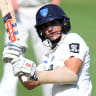 Bulls struggle against Blues but secure home final in Sheffield Shield