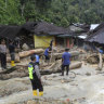 Dozens dead in floods, landslides on Indonesia's Sumatra island