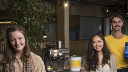 Beans for good: youth start-up aims to change the world through coffee