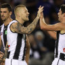 De Goey boots six to lead Magpies to victory