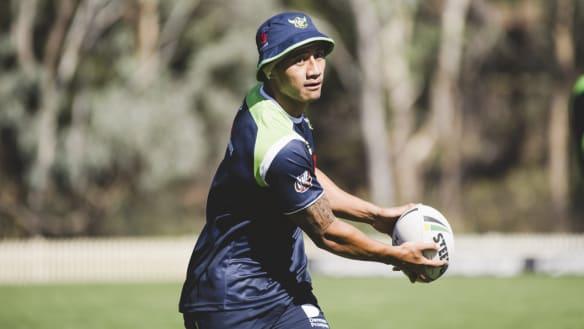 Raiders five-eighth Ata Hingano surprise inclusion in Tonga squad