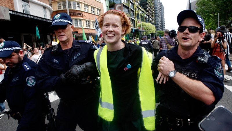 Extinction Rebellion protesters subject to bail conditions 'designed for bikie gangs'
