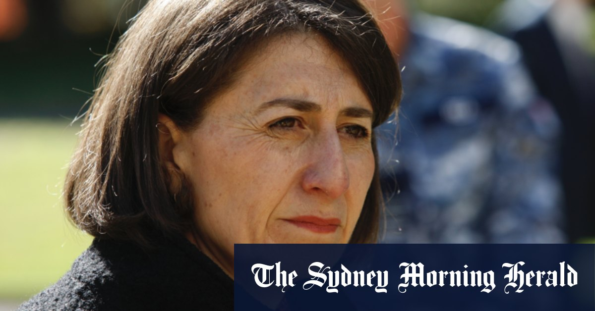 Berejiklian says a quarantine facility in NSW must be a federal responsibility – The Sydney Morning Herald