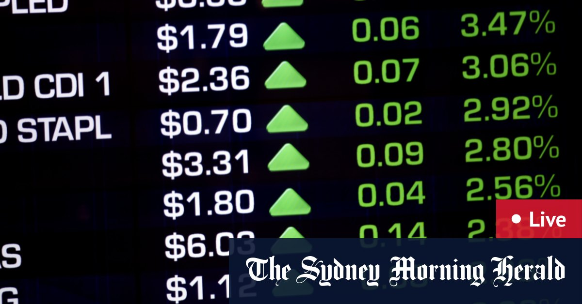 ASX up 1% and near post-pandemic high; Banks Telstra surge – The Age