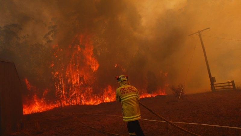 NSW bushfires LIVE: Third person dies in NSW bushfires
