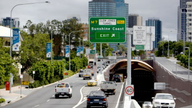Brisbane's Clem7 Tunnel attracts 29,000 vehicles per day down from 35,443 in 2016.