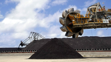 The government is targeting India as a destination for Australian coal.