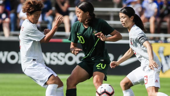 Matildas get revenge over Japan, but fail to win Tournament of Nations