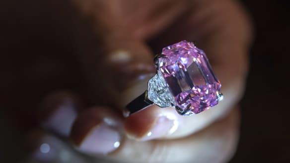 'Pink legacy' diamond sells world record $50 million