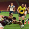 Nine to face fight for NRL rights as V'landys seeks to capitalise on TV stability
