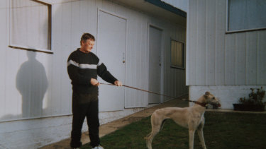 John Burrows, 58, a well-known local greyhound trainer was killed outside his Portland house