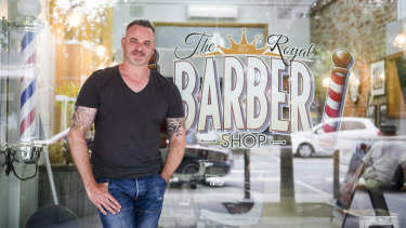 David Tutalo, the owner of The Royal Barber Shop in Queanbeyan, believes the investment in the town centre will benefit local businesses.