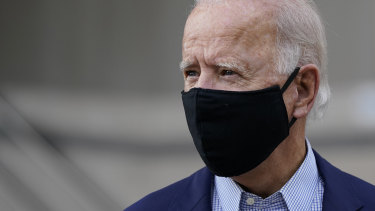 """I trust scientists"": Democratic presidential nominee Joe Biden."