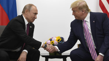 Friends: Under Vladimir Putin, Russia has turned away from liberalism. Donald Trump, meanwhile, shows contempt for liberal norms such as a free press and an independent judicial system.